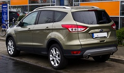 Ford Kuga Titanium (Germany; pre facelift)
