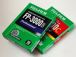 Fujifilm equivalents of Polaroid films