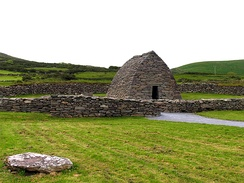 Gallarus Oratory, one of the earliest churches built in Ireland