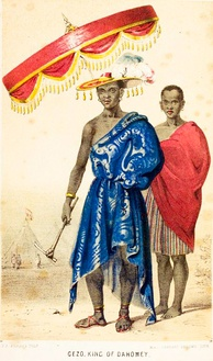 Ghezo, King of Dahomey, was under pressure from the British to end the slave trade
