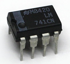 An LM741 general purpose op-amp