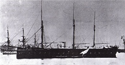 The French Gloire (1859), the first ocean-going ironclad warship
