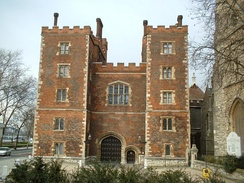 Lambeth Palace is the official residence of the Archbishop of Canterbury in London