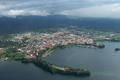 The port of Malabo.