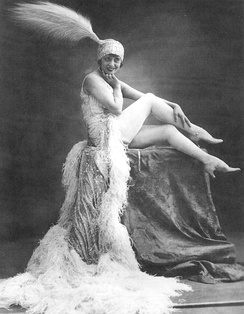 Mistinguett at the Moulin Rouge