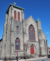 Most Holy Redeemer Church was built in East Boston in 1844.
