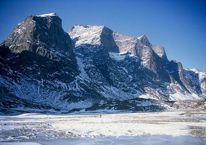 Mount Odin is the highest summit of Baffin Island.
