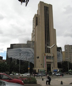 National Lottery building located in Mexico City
