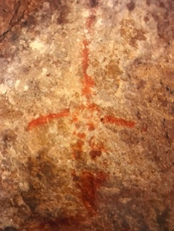 2,000 year-old pictograph in Thousand Oaks.