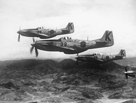 P-51 Mustangs were among the first fighter aircraft for the ROKAF