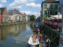Riverside in Ghent