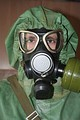 A modern Russian gas mask.