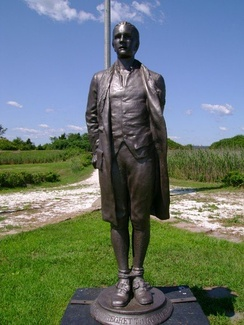 Statue by Bela Lyon Pratt at Fort Nathan Hale