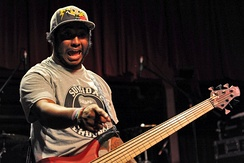 "Stephen ""Thundercat"" Bruner was the bassist for Suicidal Tendencies from 2002 to 2011, although he did perform on their eleventh studio album 13, which was released two years after his departure from the band."
