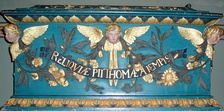 The reliquary with the relics of Thomas à Kempis