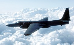 The Lockheed U-2, which first flew in 1955, provided intelligence on Soviet bloc countries.