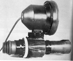The German 1945 pattern active infrared Zielgerät ZG 1229 Vampir was a device developed during World War II for use at night.