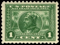 Balboa 1-cent, 1913 issue
