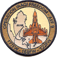 2006 Operation Iraqi Freedom patch