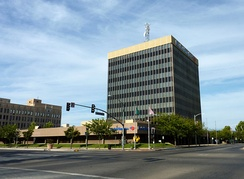 Truxtun Tower, also referred to as the Bank of America Building, is the tallest in downtown and the second tallest building in Bakersfield.