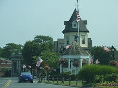The Triangle in downtown Amityville