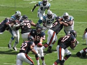 2008 NFC South champions Carolina against Chicago in week 2 of the season