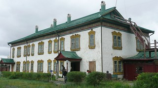 Winter residence of the Bogd Gegeen, built in 1903, designed under Tsar Nicholas II