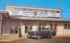 1607th Air Transport Wing Operations Center, about 1960