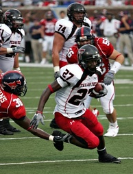 Red Raiders in action in 2007