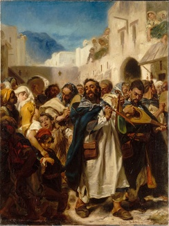 Jewish Festival in Tetuan, Alfred Dehodencq, 1865, Paris Museum of Jewish Art and History