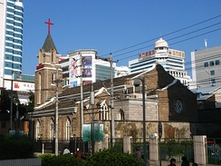 Flower Lane Church is the first Methodist church erected in downtown Fuzhou