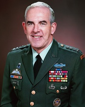General James Lindsay the first Commander in Chief, Special Operations Command