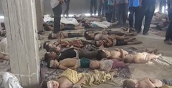 Some of the victims of the Ghouta, Syria attack, August 21, 2013