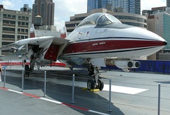 F-14B at the Intrepid Sea-Air-Space Museum
