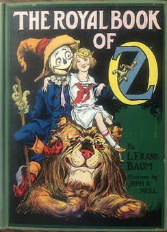 John R. Neill's artwork for the cover of The Royal Book of Oz (1921)