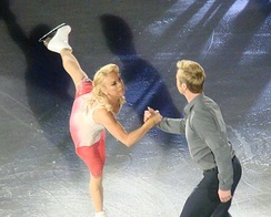 Torvill and Dean performing in 2011
