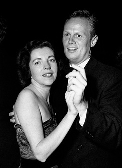Jean Hazlewood and Richard Widmark in the 1950s