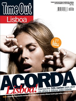 Launch cover for Time Out Lisbon Magazine