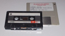Two forms of magnetic media commonly used in the 1980s and 1990s for video games are cassette and floppy disk