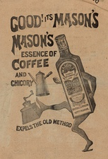 A late 19th-century advertisement for coffee essence