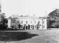 Menabilly house in Fowey, which du Maurier leased in 1943. She restored it from a neglected state, and made it her home until 1969.