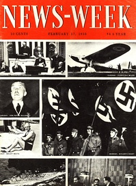 Cover of the first issue of News-Week magazine