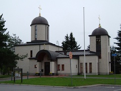 Church of St. John the Teologian in Pori, built 2002