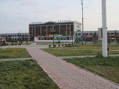 Railway station in Petropavl