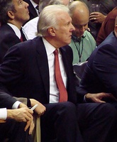 Gregg Popovich (left) and Stan Van Gundy (right) were selected as the West and East head coach, respectively.