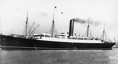 RMS Carpathia of 1903 (13,555 GRT) became famous for rescuing the survivors of the sinking of the RMS Titanic.