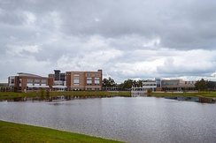 View of a few buildings at Seminole State College
