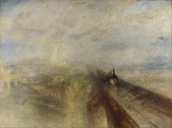 Rain, Steam and Speed – The Great Western Railway, 1844, oil on canvas, National Gallery
