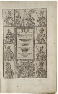 The 1587 edition of Holinshed's Chronicles