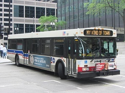 1000-series New Flyer D40LF bus